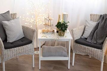 100% Mosel Tischläufer Sterne, in Gold (28 cm x 5 m), Tischband aus Organza, edle Tischdeko für Weihnachten & Adventszeit, festliche Dekoration zu besonderen Anlässen - 7