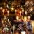 20-60er Weinachten LED Kerzen Weihnachtsbeleuchtung Lichterkette Kerzen kabellos Weihnachtskerzen Weihnachtsbaum Kerzen mit Fernbedienung kabellos Baumkerzen(milchweisse Hülle, 30er) - 2