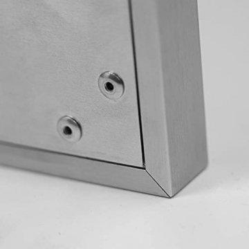 AUROM Infrarotheizung Sonplex – Elektroheizung Aluminium, Weiß, Heizpaneel für Wandmontage, elektrisch, 300 - 1100 Watt, neueste Infrarot Heiztechnik, IPX4 Nässe-Schutz, 2 J. Garantie (550 Watt) - 5