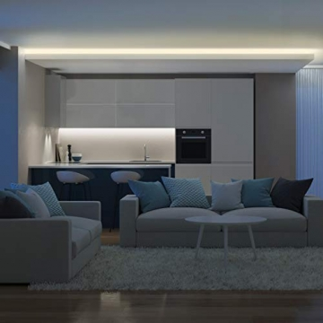 B.K.Licht LED Strip 5m, RGB Streifen, Strips, Band mit Farbwechsel, Stripes mit Fernbedienung, Lichtband selbstklebend, LED Leiste, Lichterkette bunt, Lichtleiste - 4