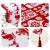 Bestickter Tischläufer für Weihnachtsdekoration, Weihnachtsdekoration, Weihnachts-Tischwäsche für Weihnachtsdekoration, Heimtischdecke, dekorativ - 3