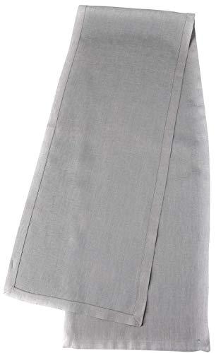 Crabtree Collection Tischläufer aus natürlichem Flachs, Weihnachts-Tischwäsche, zeitlos, Küchendekoration, Leinen, Servietten-Set – (grau, 35,6 x 183,8 cm) - 2