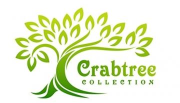 Crabtree Collection Tischläufer aus natürlichem Flachs, Weihnachts-Tischwäsche, zeitlos, Küchendekoration, Leinen, Servietten-Set – (grau, 35,6 x 183,8 cm) - 9