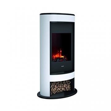 DIMPLEX 206275 Elektrischer Kamin mit Fernbedienung, 1000 W, 220 V, Schwarz/Weiß - 2