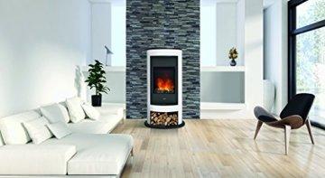DIMPLEX 206275 Elektrischer Kamin mit Fernbedienung, 1000 W, 220 V, Schwarz/Weiß - 3