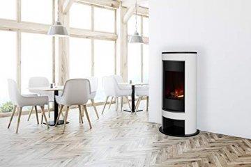DIMPLEX 206275 Elektrischer Kamin mit Fernbedienung, 1000 W, 220 V, Schwarz/Weiß - 5