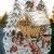 Fensterbild Plauener Spitze 20x30 cm + Saugnapf Weihnachten Advent Winter Futterkrippe REH Hase Spitzenbild Winter Advent - 2