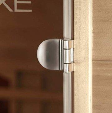 Home Deluxe – Infrarotkabine Gobi L – Vollspektrumstrahler, Holz: Hemlocktanne, Maße: 153 x 110 x 190 cm | Infrarotsauna für 2-3 Personen, Sauna, Infrarot, Kabine - 5