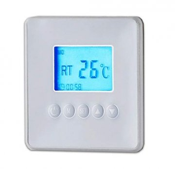 Infrarotheizung Wandheizung Heizung Heizpaneel mit Timer und LCD Display. Digital Infrarot Heizung Heizkörper Inkl.Standfüßen DMS® (80 x 60 x 1 cm 550Watt) - 3