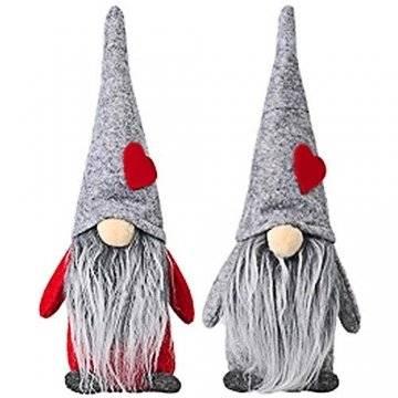 INTVN Santa Dolls Süße Weihnachten,Puppen Figur Schneemann aus Weihnachtsfigur Dwarf,Urlaub Dekoration Geschenke,Plüsch Weihnachtsdeko,Plüsch Schwedische Wichtel - 1