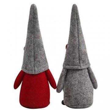 INTVN Santa Dolls Süße Weihnachten,Puppen Figur Schneemann aus Weihnachtsfigur Dwarf,Urlaub Dekoration Geschenke,Plüsch Weihnachtsdeko,Plüsch Schwedische Wichtel - 7