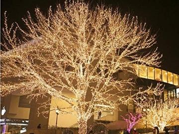 ISO TRADE 1000 LED Lichterkette Weihnachtsbeleuchtung Innen/Außen 11512, Farbe:Warmweiß - 3