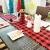 Jsdoin Weihnachts-Tischläufer, 35,6 x 68,6 cm, Rot und Schwarz, Büffelkariert, Karomuster, Tischläufer, klassische Weihnachts-Tischwäsche für Weihnachtsdekoration, Zuhause, Esszimmer, Party - 2