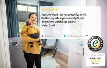 Könighaus Fern Infrarotheizung – Bildheizung in HD Qualität mit TÜV/GS - 200+ Bilder - 300 Watt (45. Sonnenuntergang Meer) - 7