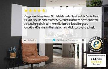 Könighaus Fern Infrarotheizung – Bildheizung in HD Qualität mit TÜV/GS - 200+ Bilder - 1000 Watt (42. Steg) - 7
