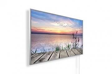 Könighaus Fern Infrarotheizung - Bildheizung in HD Qualität mit TÜV/GS - 200+ Bilder – mit Smart Home Thermostat, steuerbar mit APP für Handy- 1000 Watt (42. Steg) - 1