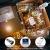 LED Lichterkette, 20m 200LED Lichterketten Lichter Lichterschlauch, wasserdicht 8 Modi Fernbedienung Außen Innen für Weihnachtsbeleuchtung Festliche Hochzeit Schlafzimmer Dekorationen (clear1) - 4
