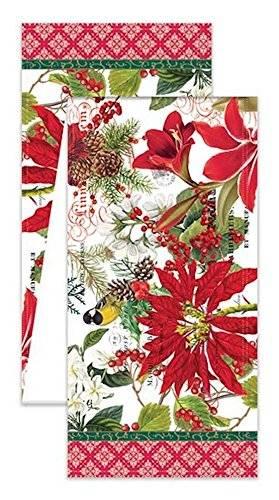Michel Design Works Türkischer Baumwoll-Tischläufer, 274 cm, Merry & Bright - 1