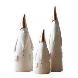 SONHO Osterdeko Weihnachtlicher Ornamental Zierschmuck Haus Dekoration Nordischer Stil (3 Stück im Set) - 1