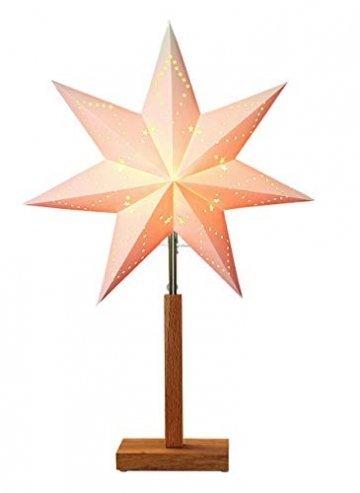 "Star Stern""""Karo Mini"""" Material: Holz/Papier, Farbe beige, Höhe, 55 x 34 cm - 1"