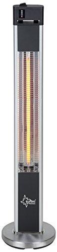 SUNTEC Infrarot-Heizstrahler mit Fernbedienung | Heat Patio 2000 Carbon Wärmestrahler für Terrasse | Outdoor Terrassenheizer für Balkon, Garten max. 2000 Watt Infrarotstrahler Strahlwasser-Schutz - 7