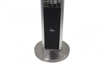 SUNTEC Infrarot-Heizstrahler mit Fernbedienung | Heat Patio 2000 Carbon Wärmestrahler für Terrasse | Outdoor Terrassenheizer für Balkon, Garten max. 2000 Watt Infrarotstrahler Strahlwasser-Schutz - 8