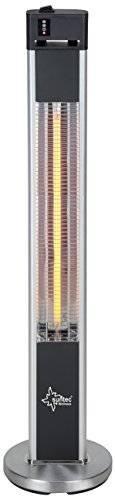 SUNTEC Infrarot-Heizstrahler mit Fernbedienung | Heat Patio 2000 Carbon Wärmestrahler für Terrasse | Outdoor Terrassenheizer für Balkon, Garten max. 2000 Watt Infrarotstrahler Strahlwasser-Schutz - 1