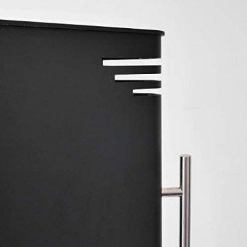 VASNER HeatTower Stand-Heizstrahler 2500 W, 4 Stufen Dimmer, Infrarotstrahler Standgerät, Terrassenstrahler mit Standfuß, Fernbedienung, elektrisch, IP65 Terrasse, schwarz - 7