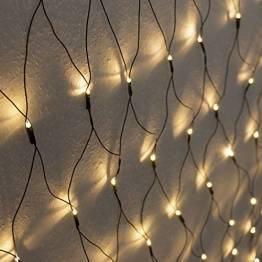 Weihnachtsdekoration 160 LED – Beleuchtung Außen Lichternetz - 1