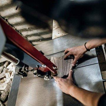 Woods Holzstern Zirbe - Dekoration aus Holz handgefertigt in Bayern I Holzstern zum hinstellen - gemütliche Advent & Weihnachtsdeko für Fenster Flur Tür & Co I Holzstern groß 12, 16 oder 21 cm - 4