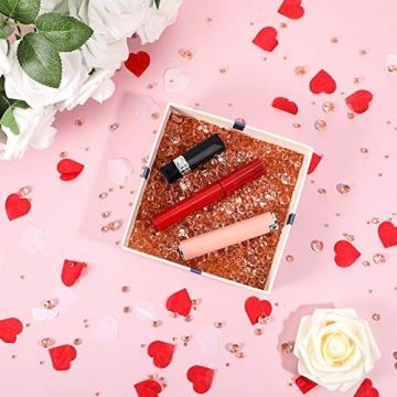 4000 Stücke Bling Diamant Acryl Edelstein Tisch Streuen Kristalle 3 mm, 6 mm, 10 mm Tisch Dekoration für Vase Füller Weihnachten Hochzeit Geburtstag Party (Rosa Gold) - 6
