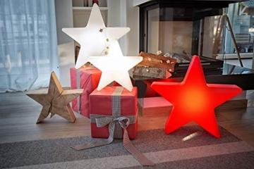 8 seasons design | Dekorative Leuchte Stern Shining Star Mini (E27, Ø 40 cm, für außen & innen: Garten, Balkon, Wohn- & Esszimmer, Kinderzimmer) weiß - 6