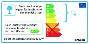 8 seasons design | Dekorative Leuchte Stern Shining Star Mini (E27, Ø 40 cm, für außen & innen: Garten, Balkon, Wohn- & Esszimmer, Kinderzimmer) weiß - 7
