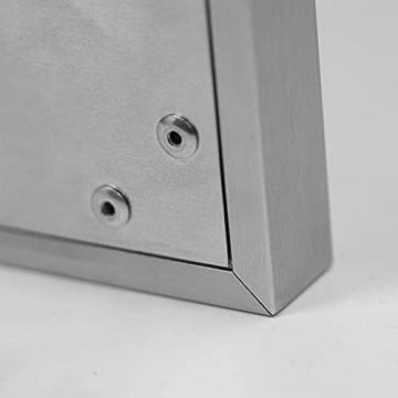 AUROM Infrarotheizung Sonplex – Elektroheizung Aluminium, Weiß, Heizpaneel für Wandmontage, elektrisch, 300 - 1100 Watt, neueste Infrarot Heiztechnik, IPX4 Nässe-Schutz, 2 J. Garantie (1100 Watt) - 5