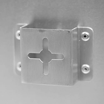 AUROM Infrarotheizung Sonplex – Elektroheizung Aluminium, Weiß, Heizpaneel für Wandmontage, elektrisch, 300 - 1100 Watt, neueste Infrarot Heiztechnik, IPX4 Nässe-Schutz, 2 J. Garantie (1100 Watt) - 7