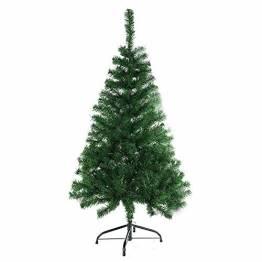 BAFYLIN Künstlicher Weihnachtsbaum Tannenbaum Kiefernadel Christbaum Dekobaum Kunstbaum (Grün, 210cm) - 1