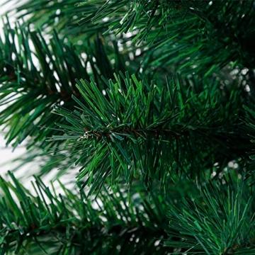 BAFYLIN Künstlicher Weihnachtsbaum Tannenbaum Kiefernadel Christbaum Dekobaum Kunstbaum (Grün, 210cm) - 9