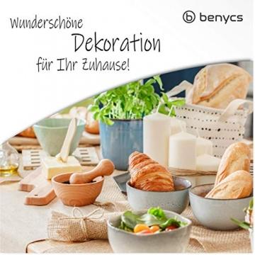 benycs Jute Tischläufer Rolle für Tisch- und Hochzeitsdeko, Tischband aus 100% Natur Leinen-Jutestoff, 30cmx10m - 4
