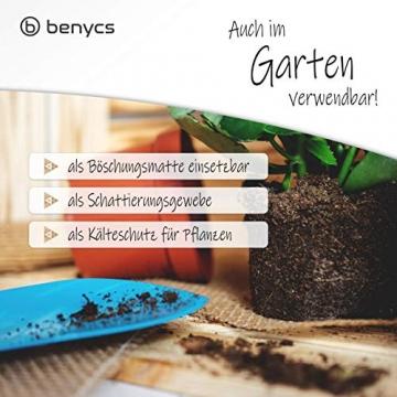benycs Jute Tischläufer Rolle für Tisch- und Hochzeitsdeko, Tischband aus 100% Natur Leinen-Jutestoff, 30cmx10m - 5
