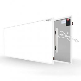 Byecold Infrarotheizung mit Schalter 900W Elektrische Wandheizung Infrarot Heizplatte Heizung Energiesparend Wandmontage Überhitzungsschutz Carbon Crystal mit RoHS CE GS - 1