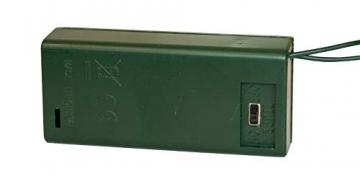 Idena 8582154 - Deko Tannenbaum mit 10 LED warmweiß, mit 6 Stunden Timer Funktion, batteriebetrieben, ca. 35 cm hoch, für die Weihnachts- und Adventszeit - 4