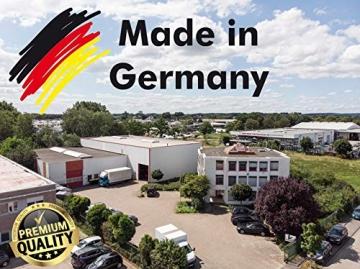 Infrarot Heizung Watt 300 Watt- Deutscher Hersteller - Elektroheizung für Steckdose - 5 Jahre Herstellergarantie- Elektroheizung mit Überhitzungsschutz - Unsere Geräte sind geprüft auf Sicherheit durch Tüv - Sonnenheizung - 5