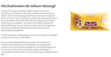 Könighaus Infrarot Heizung 130 Watt mit TÜV✓Deutscher Hersteller✓10 Jahre Herstellergarantie✓GS TÜV Süd✓Elektroheizung mit Stecker für Steckdose - heizt im optimalen Wellenlängenbereich von 8-15my - 3