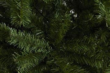 LIFA LIVING Künstlicher Weihnachtsbaum 180 cm, Künstlicher Christbaum grün, Tannenbaum 1,80 m hoch, künstliche Tanne, Weihnachtsdeko, 180 x 100 cm - 2