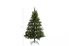 LIFA LIVING Künstlicher Weihnachtsbaum 180 cm, Künstlicher Christbaum grün, Tannenbaum 1,80 m hoch, künstliche Tanne, Weihnachtsdeko, 180 x 100 cm - 1