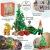 Lundby 60-604700 - Weihnachtsdeko Christbaum mit LED-Licht Puppenhaus - 7-teilig - Puppenhauszubehör - Weihnachtsbaum - Weihnachtsmann - Zubehör - ab 4 Jahre - 11 cm Puppen - Minipuppen 1:18 - 2