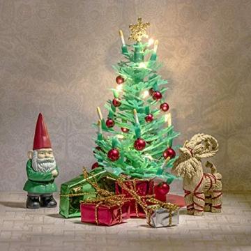 Lundby 60-604700 - Weihnachtsdeko Christbaum mit LED-Licht Puppenhaus - 7-teilig - Puppenhauszubehör - Weihnachtsbaum - Weihnachtsmann - Zubehör - ab 4 Jahre - 11 cm Puppen - Minipuppen 1:18 - 3