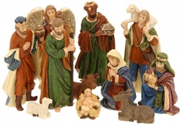 made2trade Hochwertige Figuren für die Weihnachtskrippe - 11 Teilig - 1