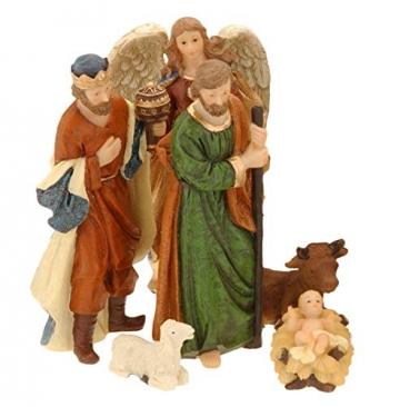 made2trade Hochwertige Figuren für die Weihnachtskrippe - 11 Teilig - 2