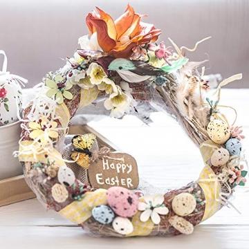 Sntieecr 8 Stück 2 Größen Weinreben Kränze Naturkranz DIY Kranz Deko für Weihnachten Türkranz Holz Dekoration Ornament Tor Wand Party Hochzeit (8, 12 cm) - 5